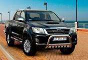 Eu-valoteline alleajosuojalla Toyota Hilux 2011-