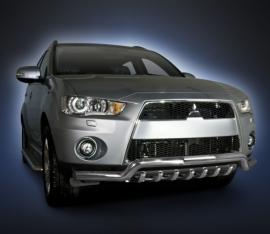 Eu-valoteline hampailla Mitsubishi Outlander 2009-2012