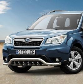 Eu-valoteline hampailla matala Subaru Forester 2013-