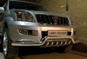 Eu-valoteline hampailla matala Toyota Land Cruiser 120 02-09