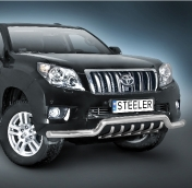 Eu-valoteline hampailla matala Toyota Land Cruiser 150 10-13