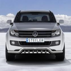 Eu-valoteline hampailla matala VW Amarok 2009-