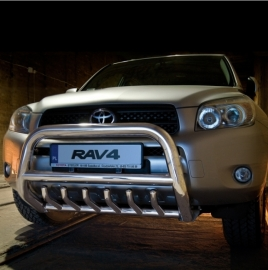 Eu-valoteline hampailla Toyota Rav4 2006-2010
