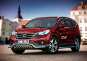 Valorauta alleajosuojalla matala Honda CR-V 2012-