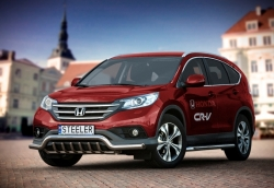 Valorauta hampailla matala Honda CR-V 2012-