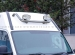Valoteline pakettiauton katolle