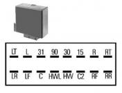 Vilkkurele 24V 1145-0102