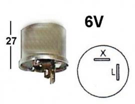 Vilkkurele 6V 1100-0556