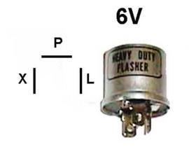Vilkkurele 6V 1100-0557