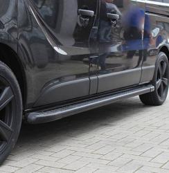 Astinlaudat Opel Vivaro alumiini