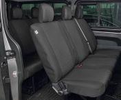 Penkinpäällinen bussi Vivaro 2014- DV3 takapenkki