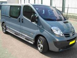 Helmaputket astinsyvennyksin Renault Trafic
