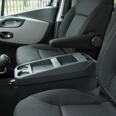 Keskikonsoli penkkien väliin VW T5
