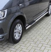 Kylkiputket askelmilla VW Transporter T5 / T6