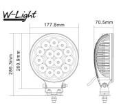 W-light Lightning 175 led-kaukovalo NS3809