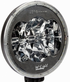"W-Light LED-kaukovalo parkilla 9"" NS3802"