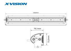X-vision Domibar X led-lisävalopaketti