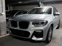 Takapuskurin suoja BMW X3 G01 2018-
