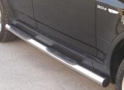 Kylkiputket askelmilla 76mm BMW X3 2003- GP/156/IX